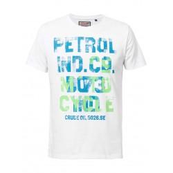 Petrol T-Shirt Text Vintage