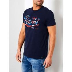Petrol Ind Chest logo T-shirt